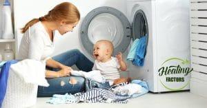 ลูกน้อย ผลิตภัณฑ์น้ำยาซักผ้าเด็ก