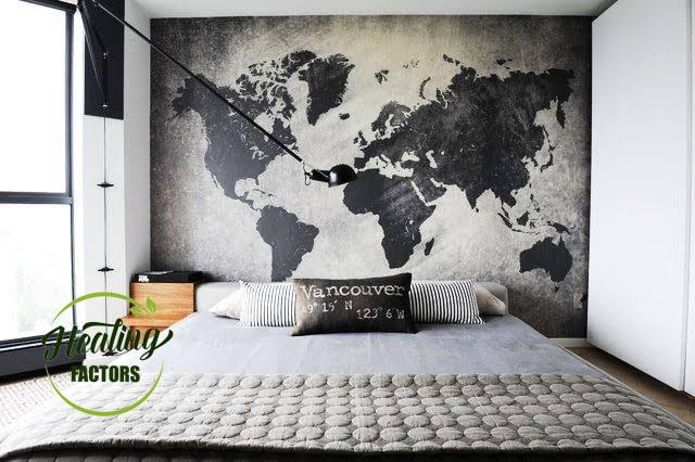 ลูกน้อย แผนที่โลก